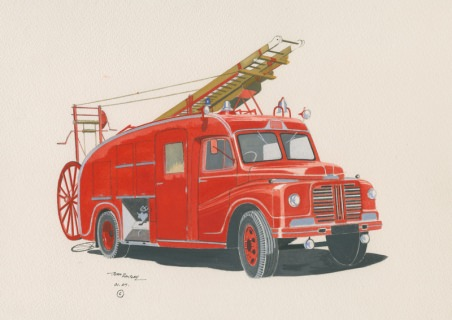 British Fire Engines