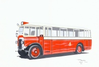 Salford corporation transport art collections Silver star motors doncaster