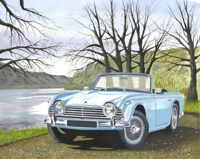 The Triumph cars gallery